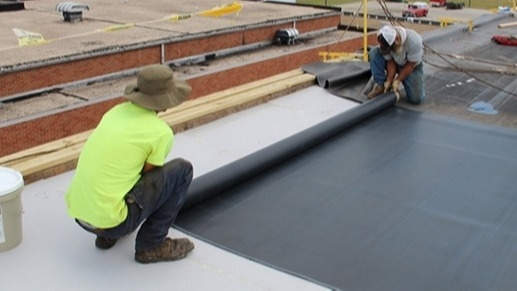 New Line Roofing Commercial Multi Family Hail Damage Residential Roof Repair
